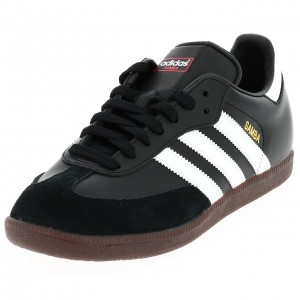 Chaussure Mode Ville Basse Homme Adidas Samba noir semelle crepe