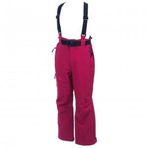Fuseau Ou Soft Shell Neige Ski Fillette Eldera Sportswear Unosofty fuschia skipant