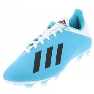 Chaussures Football Crampons Lamelles Homme Adidas X 19.4 fxg lamelle h cyan