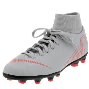 Chaussures Football Crampons Lamelles Homme Nike Superfly 6 club platine