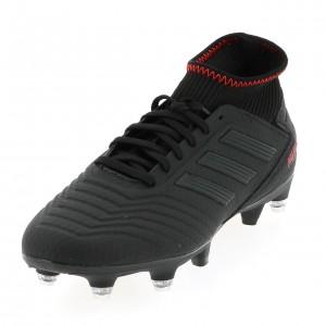 Chaussures Football Crampons Vissés Homme Adidas Predator 19.3 noir sg