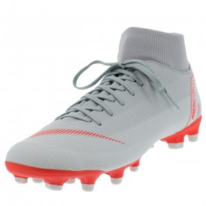 Chaussures Football Crampons Lamelles Homme Nike Superfly 6 academy platin