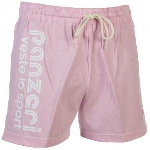 Short Multisport Homme Panzeri Uni a rose jersey short