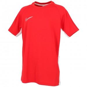Maillot Football Enfant Manches Courtes Nike Dri-fit academ rouge