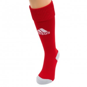 Chaussettes Football Mixte Adidas Milano16 rouge cho7 foot