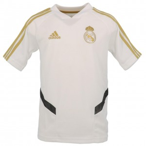 Maillot Réplica Football Enfant Manches Courtes Adidas Real maillot k training
