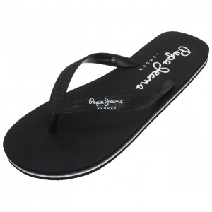 Tongues Plage Homme Pepe Jeans Swimming noir tong