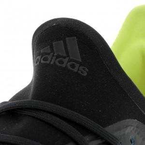 Chaussures Football Crampons Lamelles Homme Adidas X 18.2 fg bleujaune