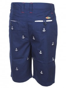 Bermuda Mode Homme G-naker Mirbel navy bermuda