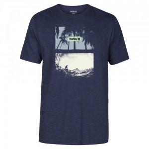 T-shirt Hurley Alright Obsidian