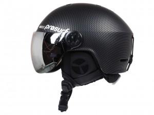 Casque Neige Ski Homme Prosurf Carbon visor noir