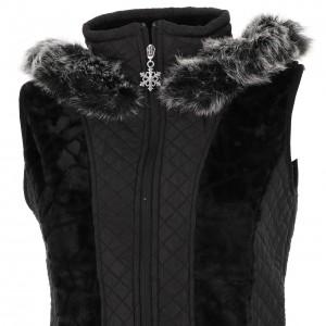 Veste Polaire Femme Sans Manches Eldera Sportswear Vienne noir sm polaire l