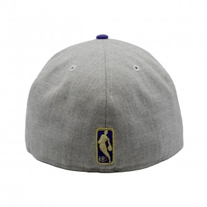 Fitted Hat Man New Era Krazy Bears Comp Collection 59fifty Hat Utah Jazz Ivory