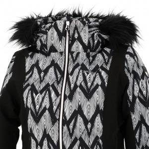 Anorak Hiver Neige Montagne Femme Icepeak Floris black jacket l