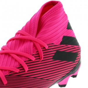 Chaussures Football Crampons Lamelles Homme Adidas Nemeziz 19.3 mg h rose