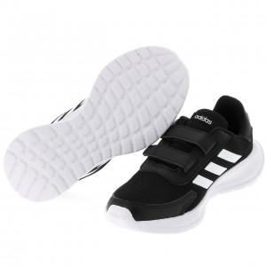 Chaussure Mode Ville Scratch Enfant Adidas Tensaur noir scrash j