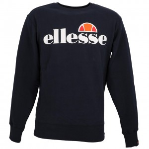 Sweat Multisport Homme Col Rond Ellesse Succiso marine sweat h