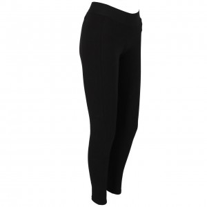 Collant Long Multisport Femme Moulant Adidas Stacked black white tight