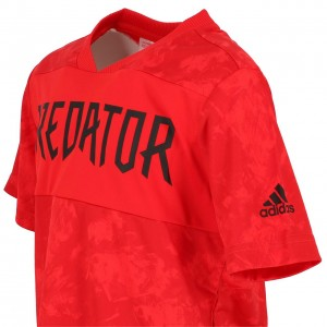 T-shirt Mode Manches Courte Enfant Adidas Jb predator jsy red mc tee jr