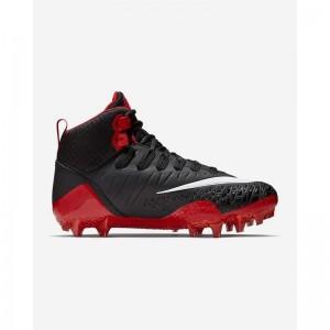 Crampons de Football Americain moulés Nike Force Savage Pro Rouge