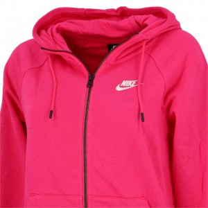 Veste Molleton Multisport Femme Capuche Zippé Nike Womens fullzip fleece hoodie rose