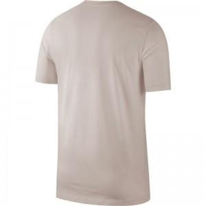 T-shirt Jordan Jumpman 19 Beige wht pour Homme