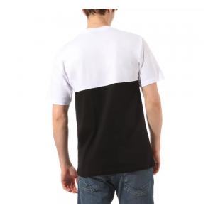 T-shirt Vans Colorblock Black / White