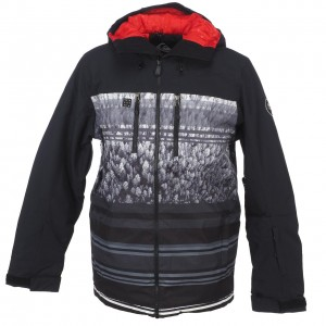 Anorak Hiver Neige Montagne Homme Quiksilver Mission block engineered