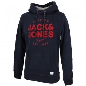 Sweat Multisport Homme Capuche Jack And Jones Upton navy blazer cap sw