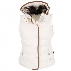 Gilet Matelassé Hiver Femme Eldera Sportswear Mary blanc sm doudoune l