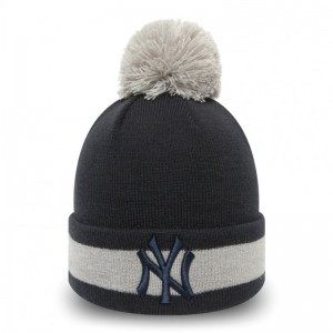 Bonnet MLB New York Yankees New Era Character Stripe Noir pour enfant