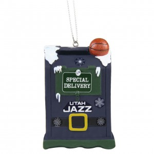 Holiday Gift & Souvenir Forever Collectibles Letters to Santa Ornament Utah Jazz