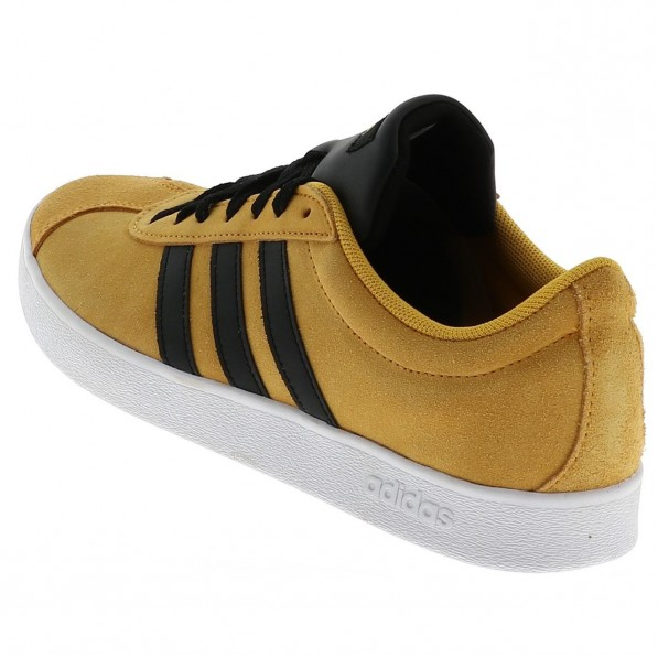 adidas vl court 2.0 jaune