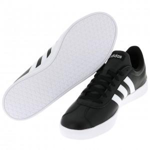 Chaussure Mode Ville Basse Homme Adidas Vl court noir lisse h