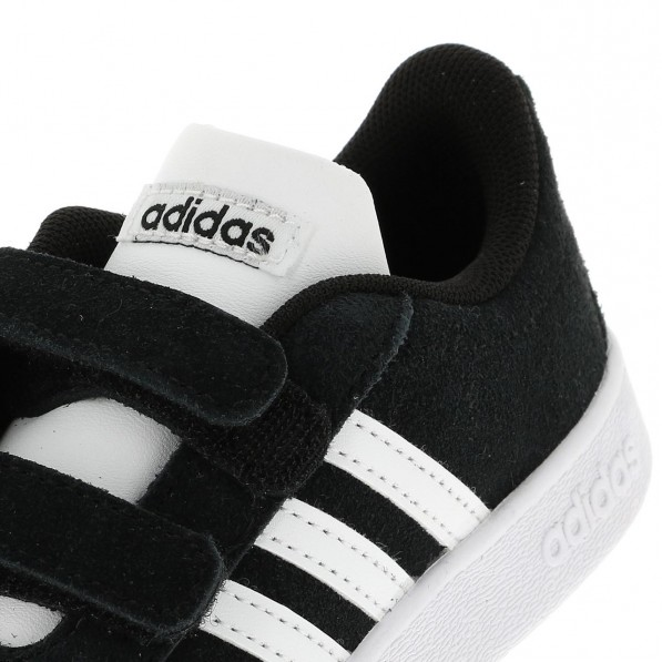 escala golpear Soleado  Adidas Chaussure Mode Ville Scratch Bébé Vl court scratch blk - Adidas -  tightR