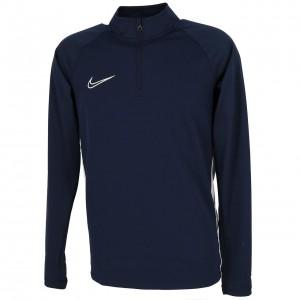 Sweat Football Homme Demi Zippé Nike Dry acdmy dril top navy