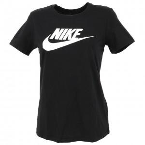 T-shirt Mode Manches Courte Femme Nike Nsw tee essent w noir