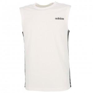 T-shirt Multisport Sans Manches Homme Adidas D2m sl 3s wht sm tee