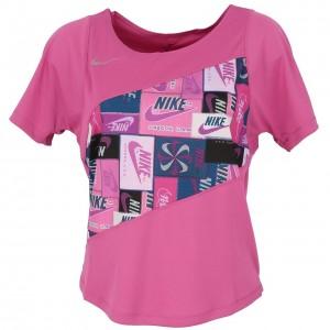 T-shirt Mode Manches Courte Femme Nike Running top femme mode