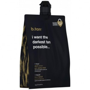 Mousse autobronzante brun foncé (14,5% DHA) 1H Pro-stay B-TAN 750ML