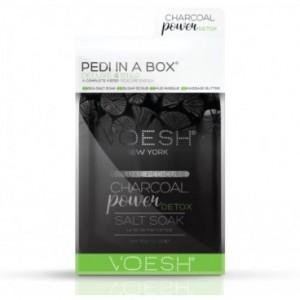 Soin des pieds Voesh - Pedi in Box Deluxe Charbon