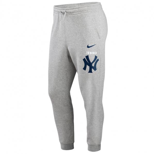 Nike Pantalon Mlb New York Yankees Club Fleece Jogger Gris Pour Junior Nike Tightr