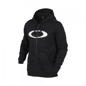 Sweat À Capuche Oakley Dwr Ellipse Fz Blackout