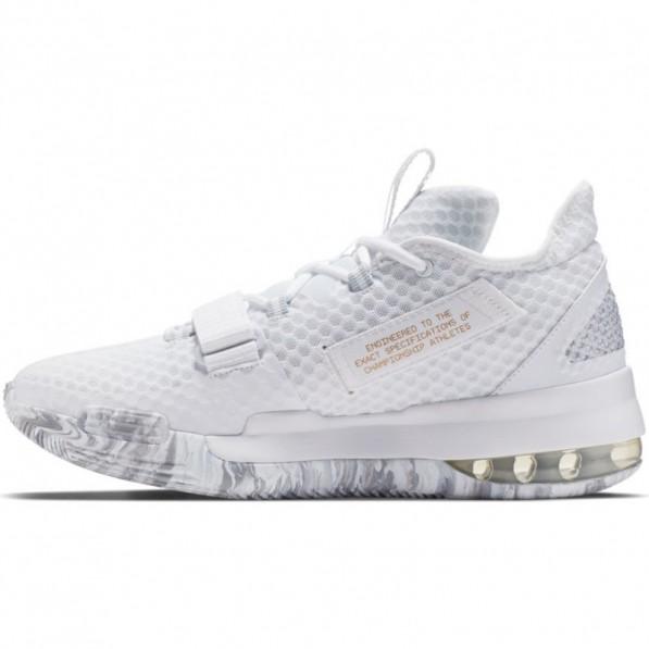 Chaussure de Basket Nike Air Force Max Low Blanc pour Homme