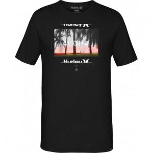 T-shirt Hurley Sunrays Black