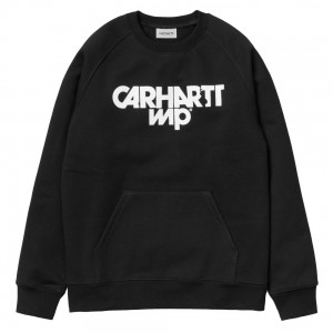Sweat Carhartt Shatter Black / White
