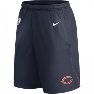 Short NFL Chicago Bears Nike Dri-Fit Coach Knit Bleu marine pour homme