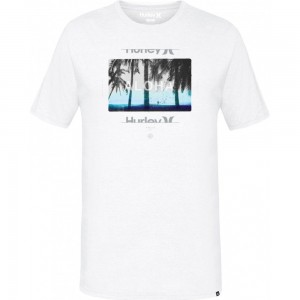 T-shirt Hurley Sunrays White