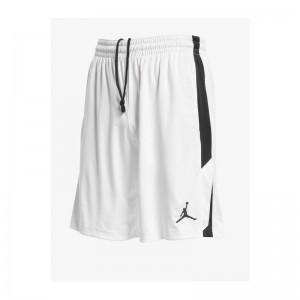 Short de basketball Jordan 23 Alpha Dry Knit Blanc pour homme