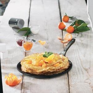 Crêpière traditionnelle avec revêtement anti-adhésif 28 cm Mathon